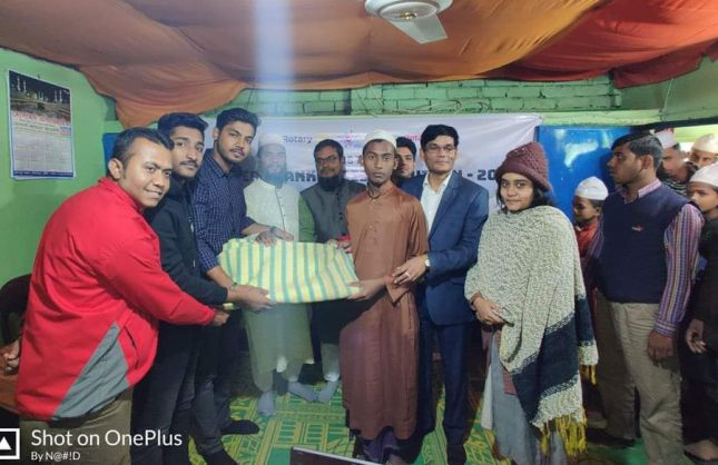 Blanket Distribution in RCC